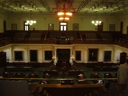 Texas Senate (Public domain via Wikimedia)