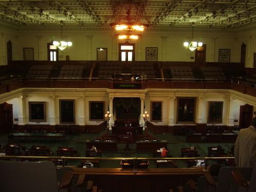 Texas Senate (Public domain via Wikimedia)