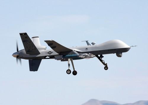 A combat drone, via Wikimedia commons