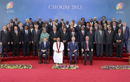 The Official Photo of CHOGM 2013