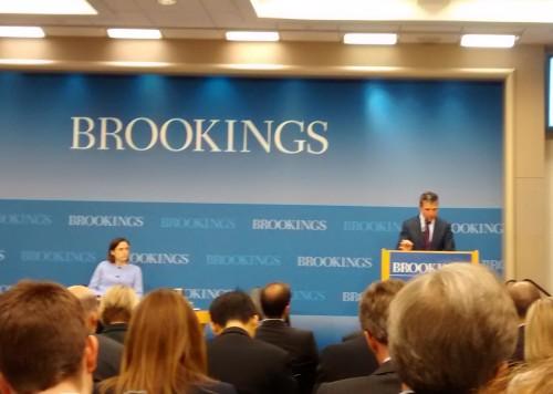 Rassmussen at Brookings
